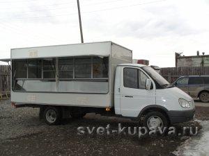 Автолавка Купава с кузовом КТ 400